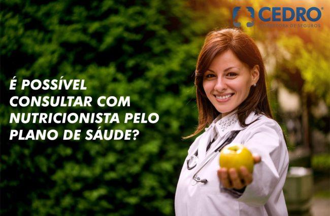 É possível consultar com nutricionista pelo plano de saúde?