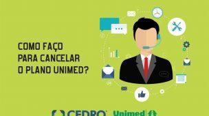 Como faço para cancelar o plano Unimed?