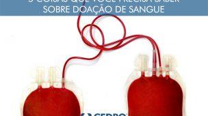5 Coisas sobre doação de sangue