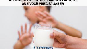 6 coisas que você deve saber sobre intolerância a lactose
