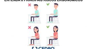 principais riscos ergonomicos