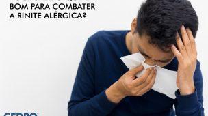o que é bom para combater rinite alérgica?