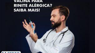 Vacina para rinite: saiba mais