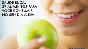 alimentos para saúde bucal