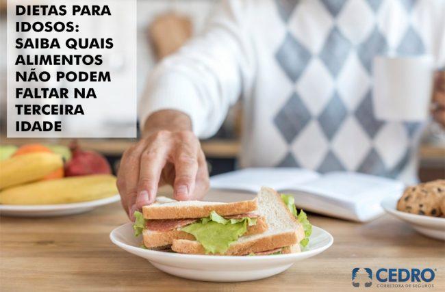 Dietas para idosos: saiba quais alimentos não podem faltar na terceira idade