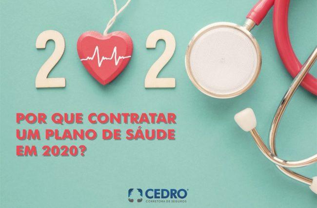 Por que contratar plano de saúde em 2020?