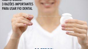 Usar fio dental: saiba mais sobre esse hábito diário