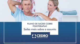 Plano de saúde cobre fisioterapia?