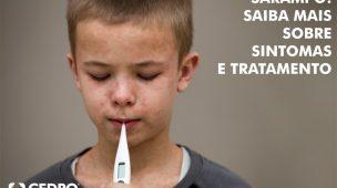 sarampo: saiba mais sobre sintomas e tratamento