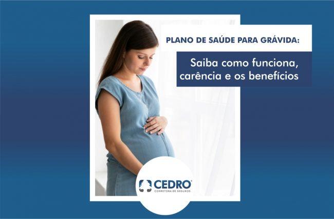 Plano de saúde para grávida: saiba como funciona, carência e os benefícios