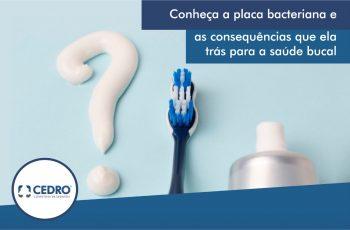 Conheça a placa bacteriana e as consequências que ela trás para a saúde bucal