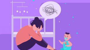 Depressão pós parto: cuidados começam durante a gravidez!